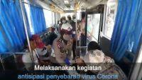 Kasatlantas Polresta Barelang Antisipasi Penyebaran Virus Covid -19