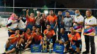 Tim Voli Putra BP Batam Sabet Gelar Juara di Turnamen Voli Gubernur Cup