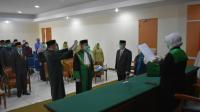 Ketua Pengadilan Tinggi Agama Bangka Belitung Melantik Wakil Ketua Pengadilan Tinggi Agama Bangka Belitung