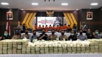 Bea Cukai – Polda Aceh Amankan Sabu 353 Kg