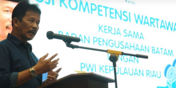 Kepala BP Batam, Muhammad Rudi,
