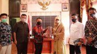 Ketua DPRD Babel Audiensi Dengan  Rektor Institut Agama Islam (IAI) Tazkia Bogor Dalam Menumbuh Kembangkan Jiwa Enterpreneur