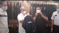Walikota Molen Resmikan Aogla Store, Toko Kaos Milenial Khas Bangka