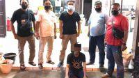 Pelaku Penusukan Ditangkap Polsek Padang Timur