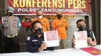 Miliki Narkoba, 2 Warga Ditangkap Polres Tanjungpinang