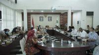 Koordinasi Pembentukan Gugus Tugas Kabupaten Layak Anak, Bupati Asahan Pimpin Rapat