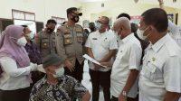 Bupati dan Kapolres Asahan Tinjau Pelaksanaan Vaksinasi Massal di Kecamatan Aek Songsongan