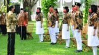 Paskibraka Team Named Pancasila Ambassadors