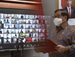 Lantik 85 Pejabat, Pramono Anung: Tugas Kita Melayani Presiden dan Wapres Sebaik-baiknya