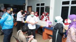 """Walikota Tanjungpinang Tinjau Pelaksanaan Donor Darah """"Donate Blood To Be A Hero"""""""