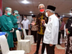 VP Ma'ruf Amin Leads Meeting on Extreme Poverty Eradication in C. Java Province