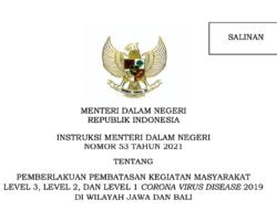 Several Regencies/Cities in Java-Bali Impose PPKM Extension until 1 November 2021