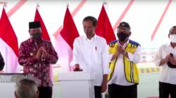 Presiden Jokowi Resmikan Jembatan Sei Alalak di Banjarmasin