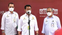 Presiden Jokowi Pimpin Rapat Terbatas Bahas Penguatan Ekosistem Pangan