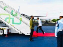 President Jokowi Kicks Off N. Kalimantan Working Visit